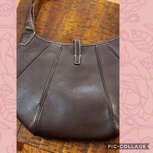 Authentic brown leather Salvatore Ferragamo bag